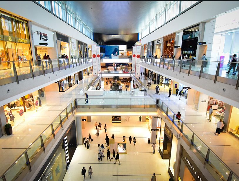 security maintenance in mall